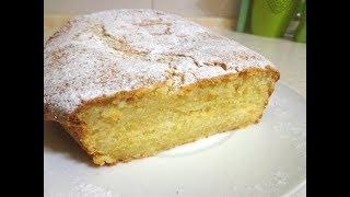 Быстрый рецепт Творожного кекса. Вкусный творожный кекс на скорую руку!