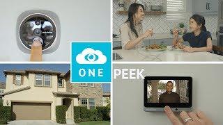 Front Door Peephole Doorbell Security Camera