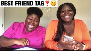 Best Friend Tag | Who knows who best?