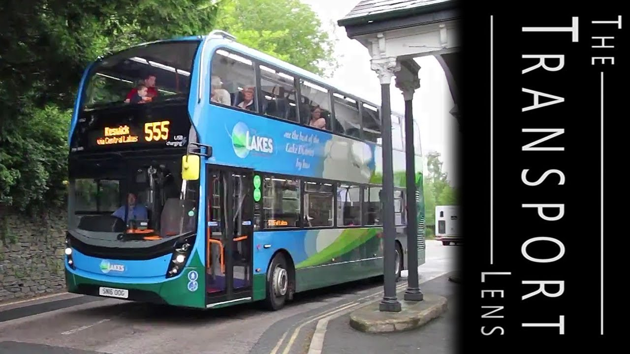 Stagecoach Buses Cumbria Route 555 In The Lake District