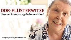 DDR-Flüsterwitze - Protest hinter vorgehaltener Hand