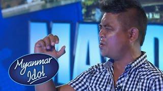 Myanmar Idol 2016 | Zaw Min Oo Audition | Mandalay Auditions