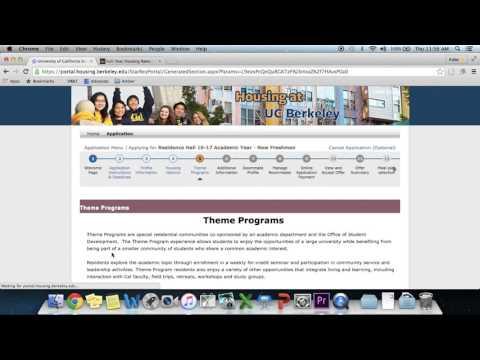 UC Berkeley Housing Application Tutorial: Phase 1