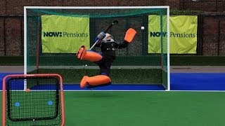 maddie hinch crazy catch hockey not giving in video