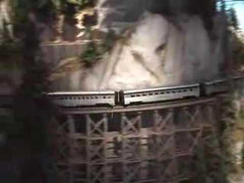 An Impressive Model Train Layout