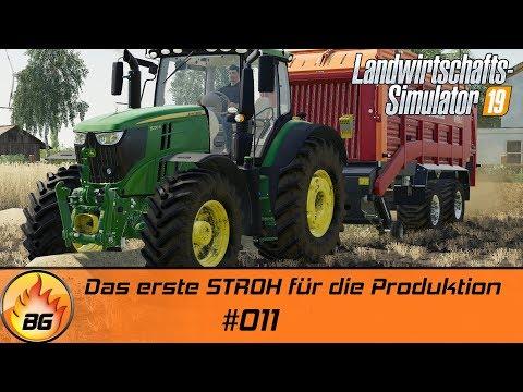 LS19 - NF MARSCH #011   Das erste STROH für die Produktion   FS19   Lets Play [HD]