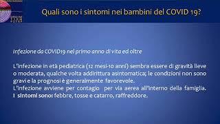 Quali sono i sintomi in neonati,  lattanti e  bambini del COVID 19? Aggiornato al 14 aprile 2020