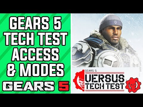 GEARS 5 Multiplayer Tech Test - How To Get Access, Games Modes, Dates & MORE! (GEARS 5 Beta News)
