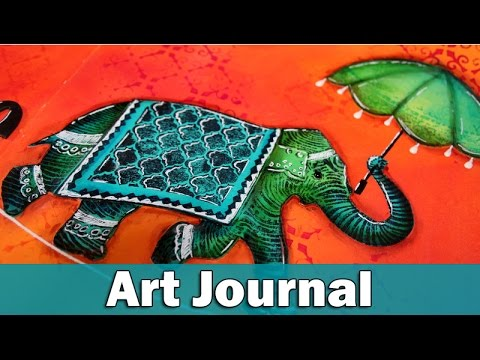 Youtube Art Journal Pages