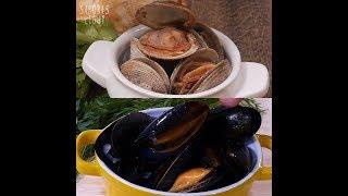 Video 2 tipos de mariscos: mejillones y almejas download MP3, 3GP, MP4, WEBM, AVI, FLV November 2017