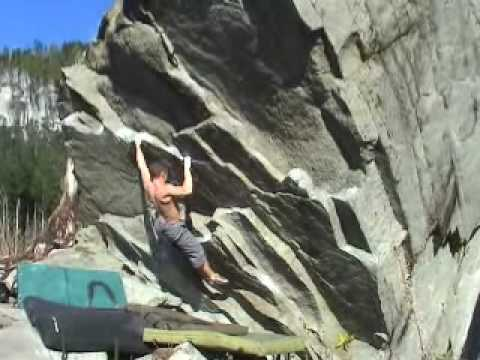 Bouldering Gold bar & Leavenworth