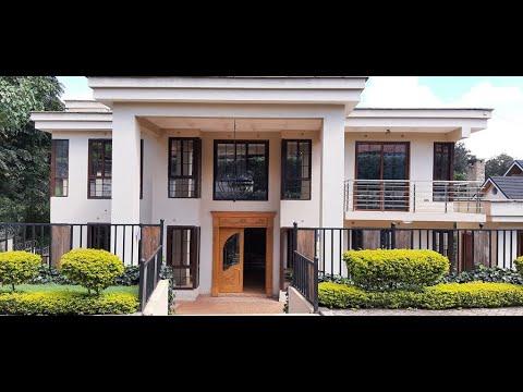 4 BEDROOM HOUSE FOR SALE IN KITISURU (KENYA) || Kitisuru Springs in Kitisuru Estate Nairobi Kenya