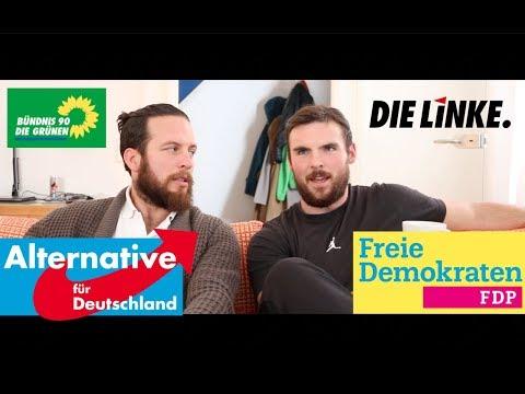 Americans Choose German Political Parties