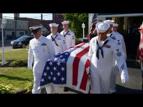 MILITARY FUNERAL -  SAMANTHA N  STOVER   OS2, United States Navy, 2, 4  August 2016