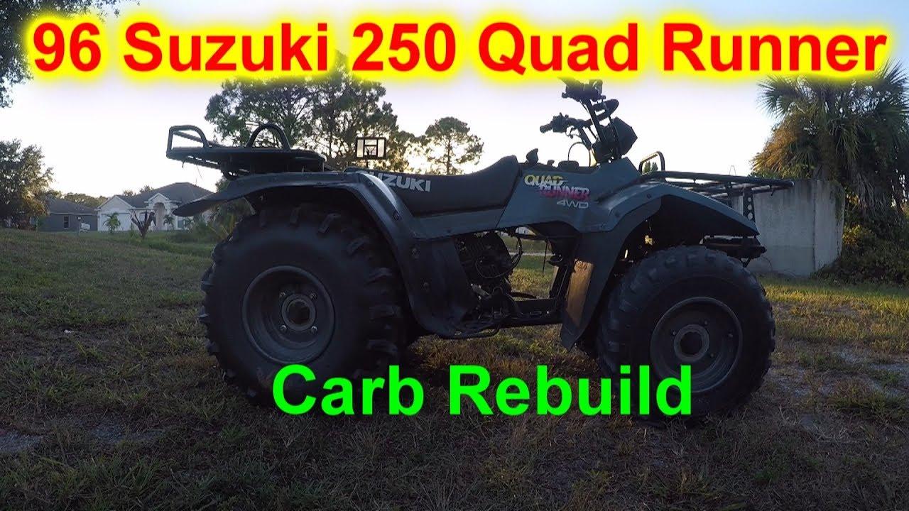 1996 Suzuki Quad Runner 250 – Fondos de Pantalla