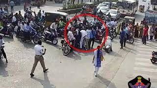 Bike Vs Bike Accident @ Leela Mahal circle on 11.01.2019 at 09.40am