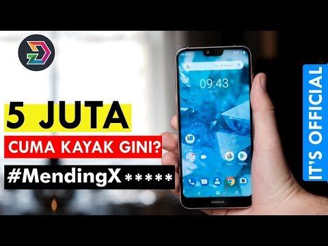 Review Nokia 6.1 plus Nokia X6 - Harus kah Beli ?.