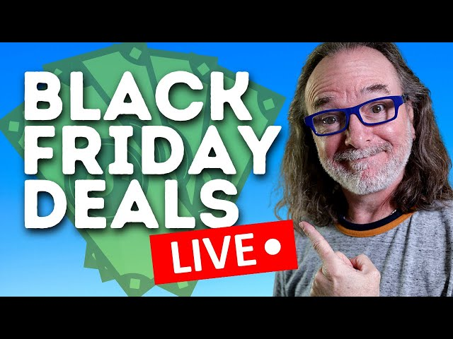 Black Friday Shopping 2020 - Money Saving Deals for Content Creators