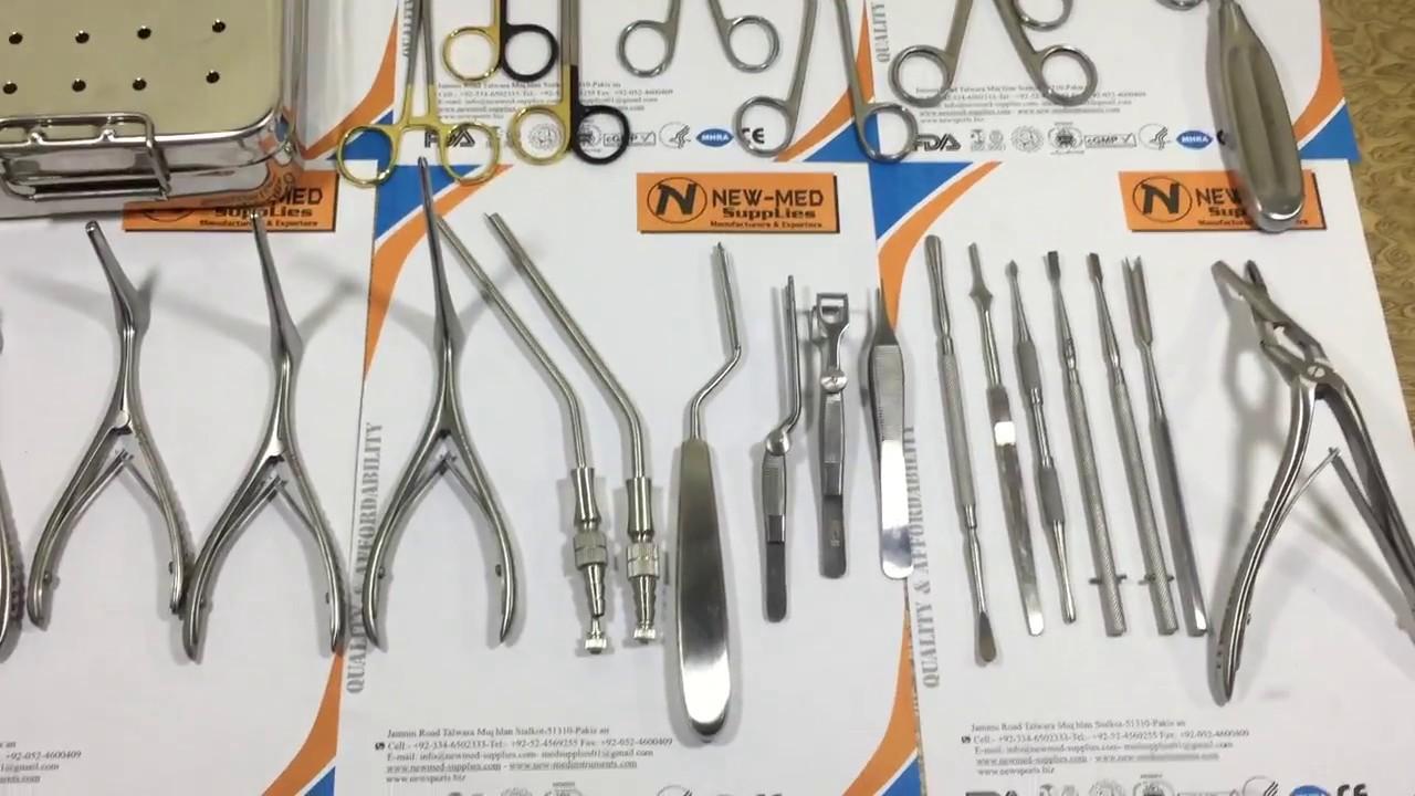 Septoplasty Surgery Instruments Set, ENT Instruments Set