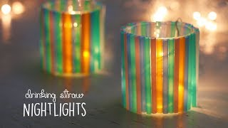 Drinking Straw Nightlights | DIY Decorative Arts | Ventuno Art