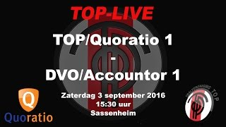 TOP/Quoratio 1 - DVO/Accountor 1, zaterdag 3 september 2016