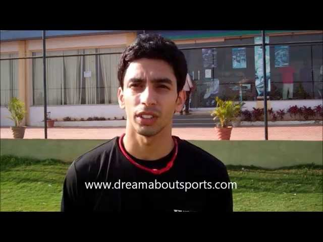 Gurusai Dutt shares his experiences with dream about sports.