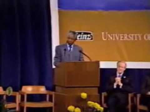 Question and Answer Session with Nelson Mandela at the University of Pittsburgh, Dec. 6, 1991