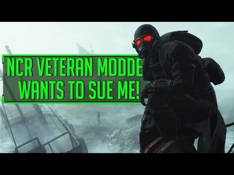Fallout 4 - Popular NCR Veteran Modder THREATENED TO SUE ME!