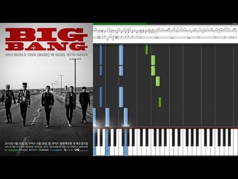 Big Bang 빅뱅 - Loser / Kpop piano sheet music