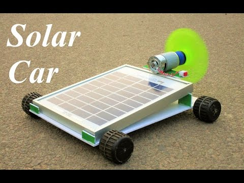 How To Make a Solar car - Powered Car