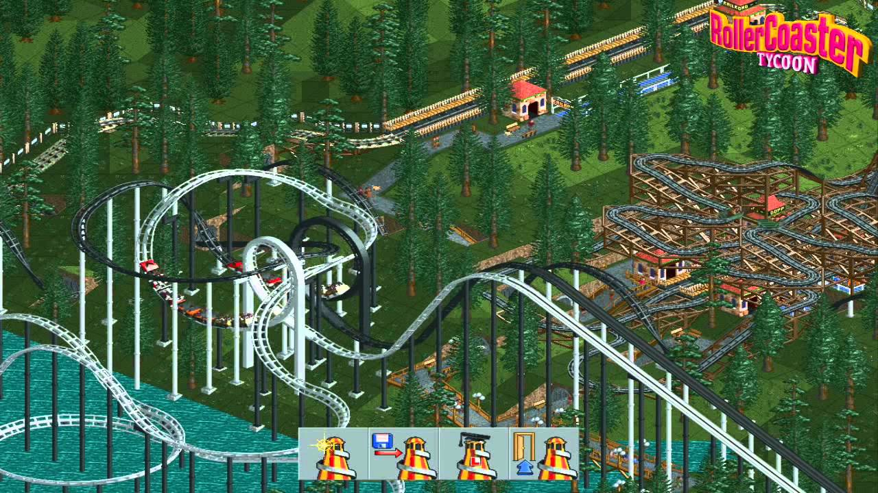 how to delete in roller coaster tycoon