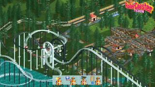 Roller Coaster Tycoon Deluxe Trailer