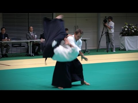 Aikido Demonstration - Christian Tissier - 12th IAF Congress (2016) [Aikikai]