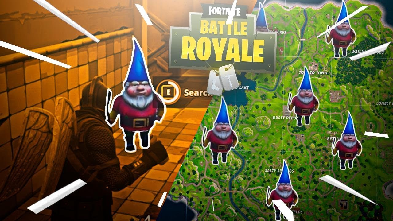 Mapa De Gnomos Fortnite.Mapa De Los Gnomos En Fortnite Battle Royale Descargar