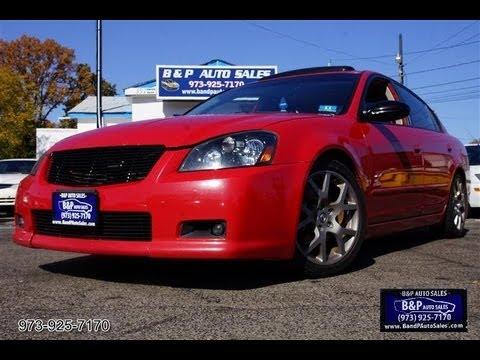 2005 Nissan Altima 35 Se R 6 Speed Sports Sedan Youtube
