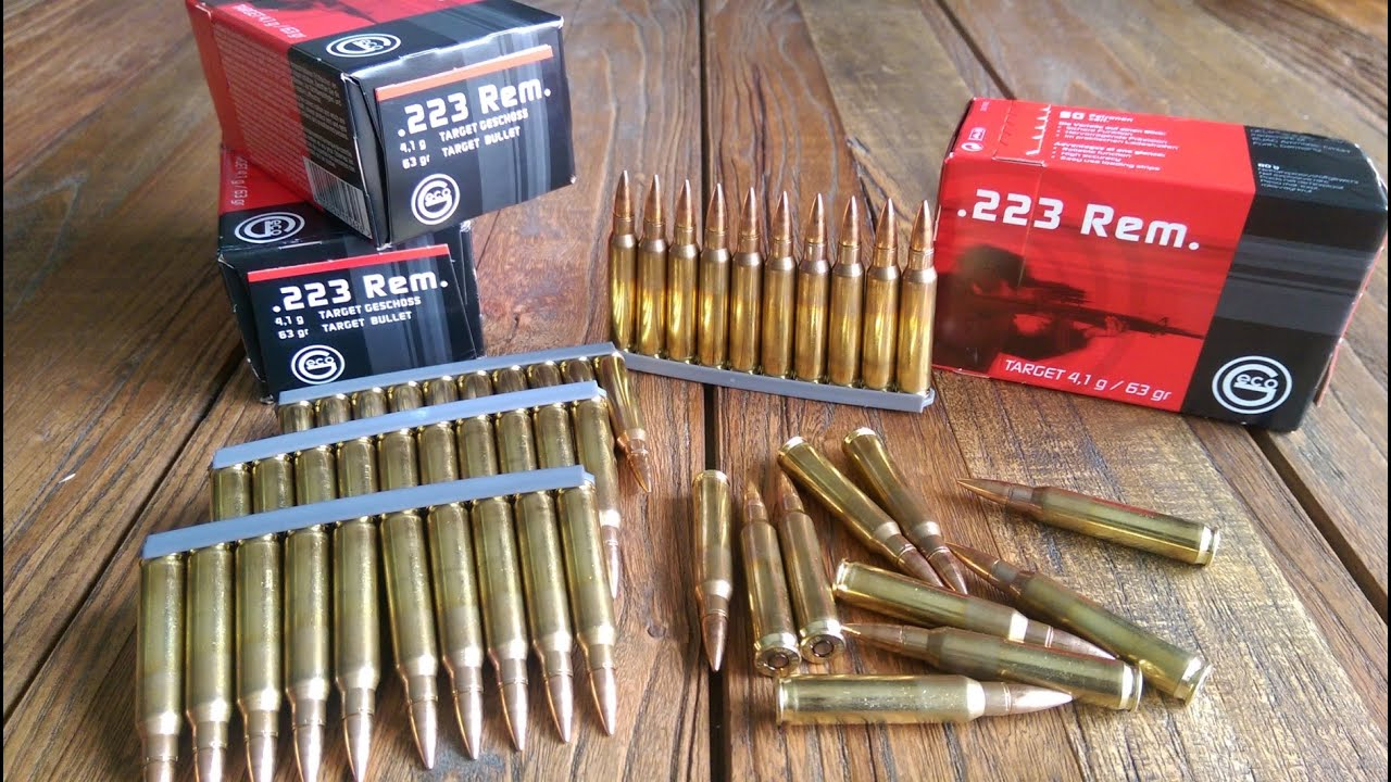 GECO .223 63gn Ammo Review. Great Quality .223 ammunition at Wholesale price. AR15 Food!! - YouTube