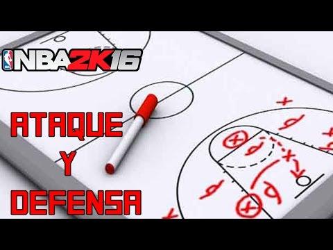 COMO ATACAR Y DEFENDER EN NBA 2K