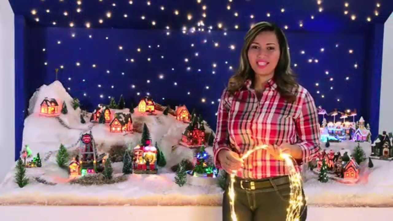 Tips para que armes la mejor villa navide a youtube for Cosas navidenas para hacer en casa