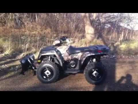 2013 Polaris Sportsman 500 With 52 Plow And Winch