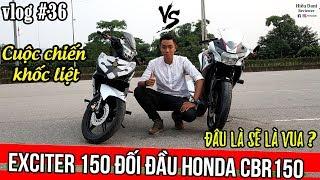 EXCITER 150 đối đầu với HONDA CBR 150 : Vua Underbone gặp Vua Sportbike cỡ nhỏ