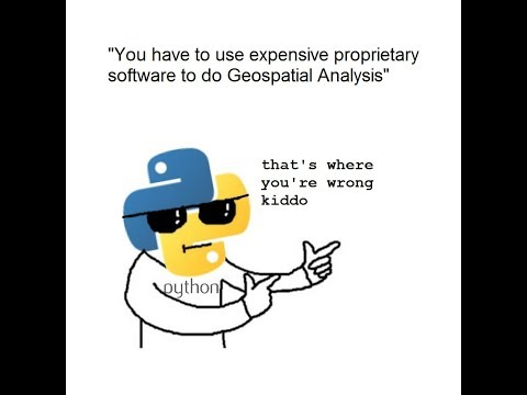 Geospatial Analysis with Python