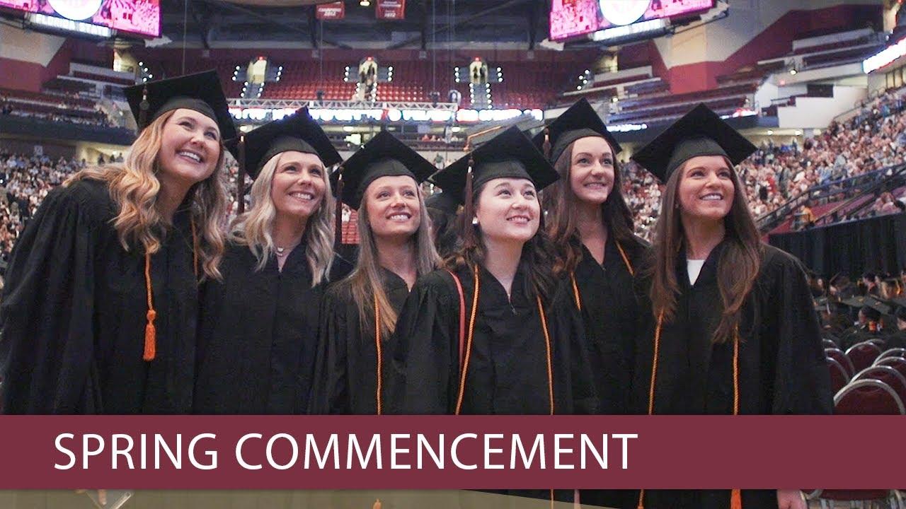 Florida State University celebrates Commencement - YouTube