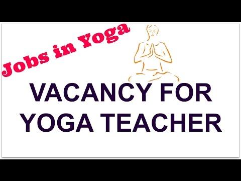 Vacancy for Yoga Teacher in Goverment  University