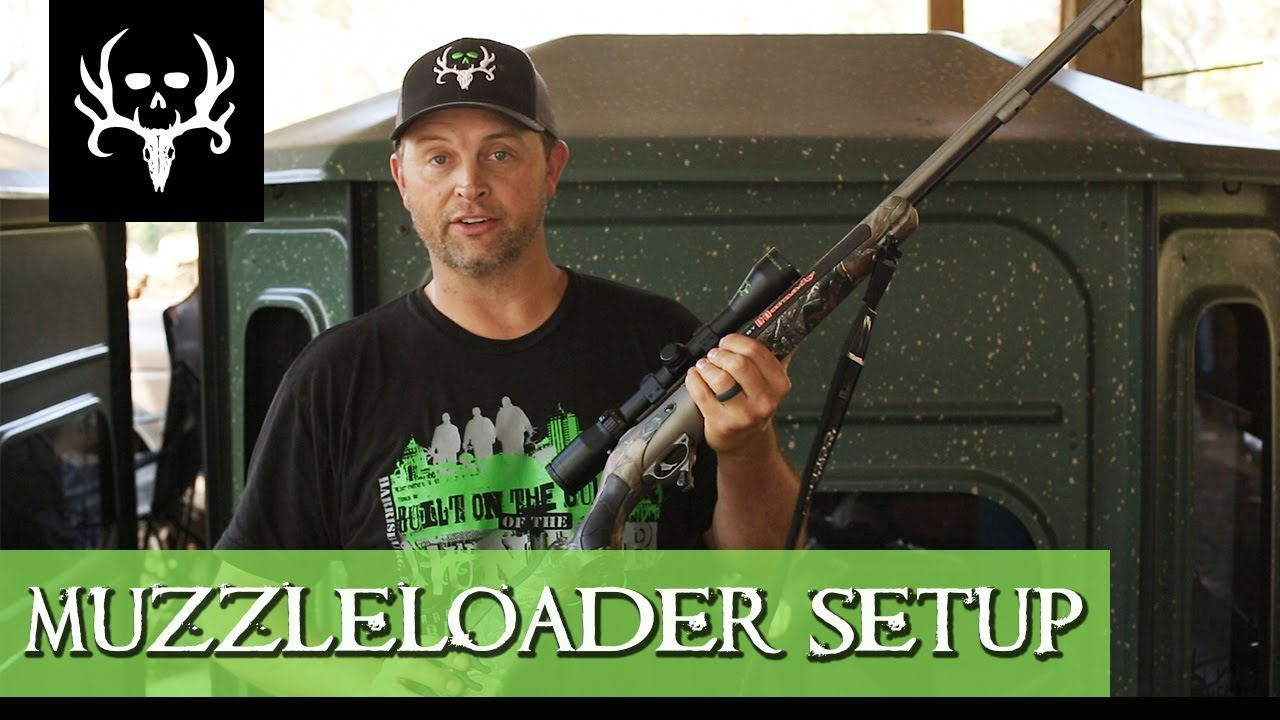 Michael Waddell's Muzzleloader Hunting Setup | Bone Collector