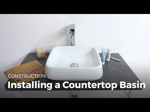 Learn Installing a Countertop Sink | DIY Projects