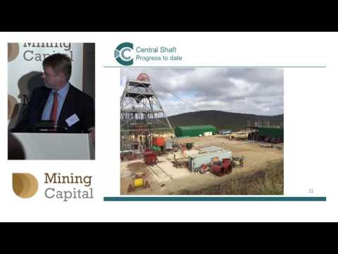 Caledonia Mining CFO Mark Learmonth speaks to investors at Mining Capital Conference