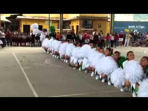 Gimnasia rítmica colegio valle de almolonga 2012