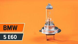 Výměnit LED a Xenon Mlhové světlomety sami - online video