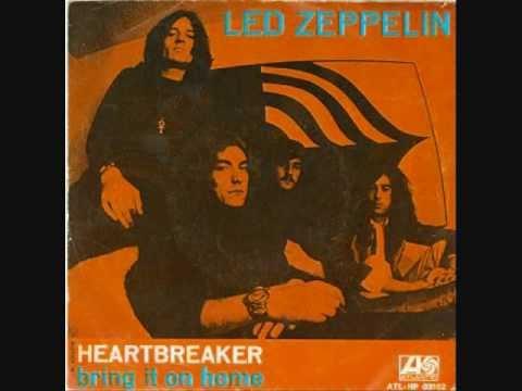 Heartbreaker Led Zeppelin-Lyrics
