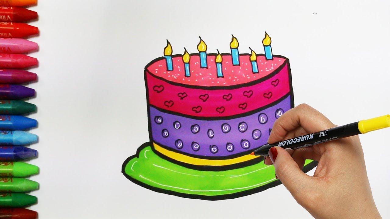 Pasta çizim Nasıl Yapılır Nasıl çizilir çocuk Ve Bebek Için